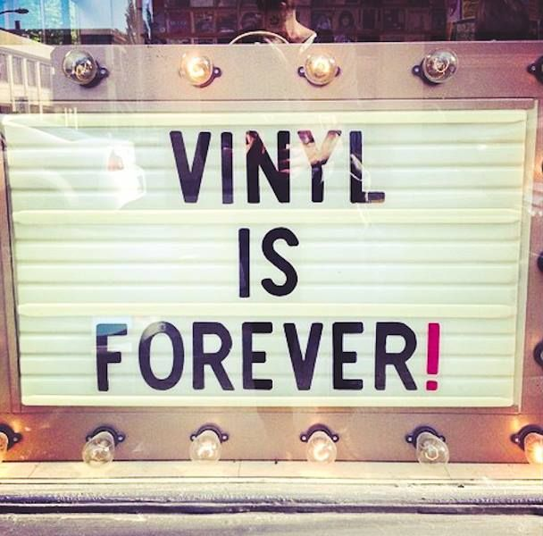 Vinyl is forever and ever , amen