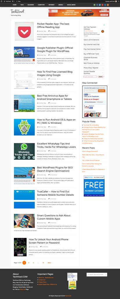 In this article I am going to share some of the popular ways to take screenshot of full or entire web page, Taking a screenshot of a web page is very simple enough, but taking the whole web page when