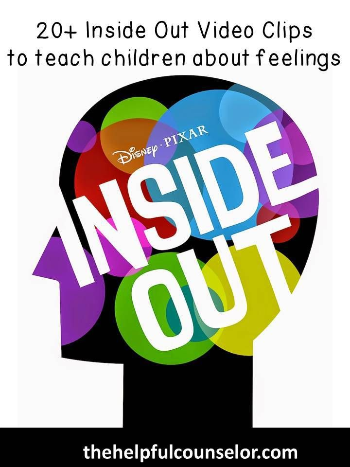 The Disney Pixar movie Inside Out was an instant hit at the box office. Children, teens, adults and especial counselors are drawn to the movie's relateable characters and life challenges.  As mentioned above, counselors anticipated the release of Inside