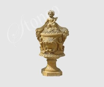 Mykko - urna z kamienia