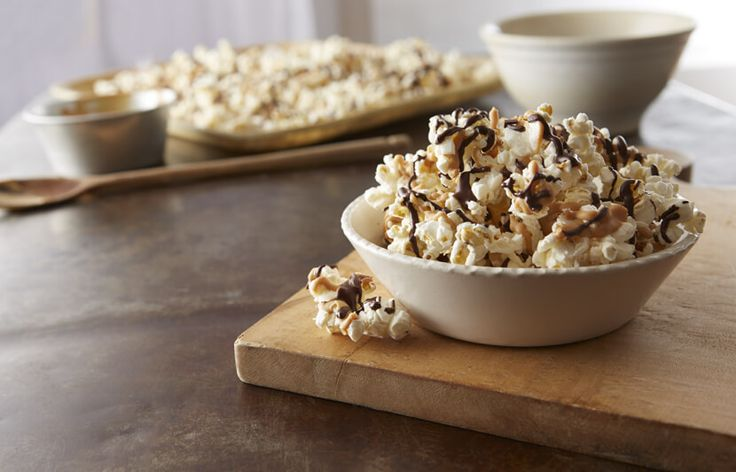 Drizzled Party Popcorn Recipe