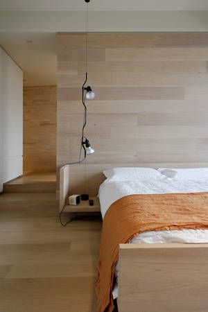 Albert Road Apartment by Stephen Jolson  architects  - use of American White Oak