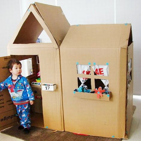 Фото и идеи детских домиков своими руками и на заказ   Дуэт душ