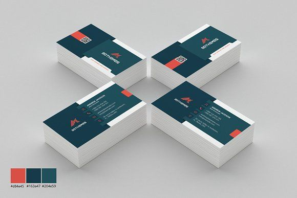 Business Card Template 08 by BdThemes on @creativemarket