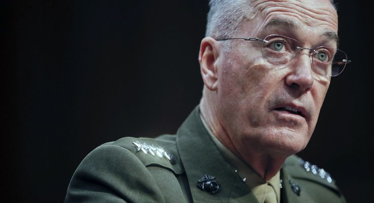 Top general says transgender troops can serve, warns on readiness