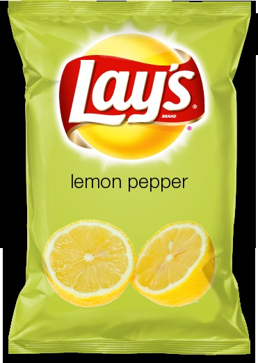 lays lemon pepper flavored chips yum would you. Black Bedroom Furniture Sets. Home Design Ideas