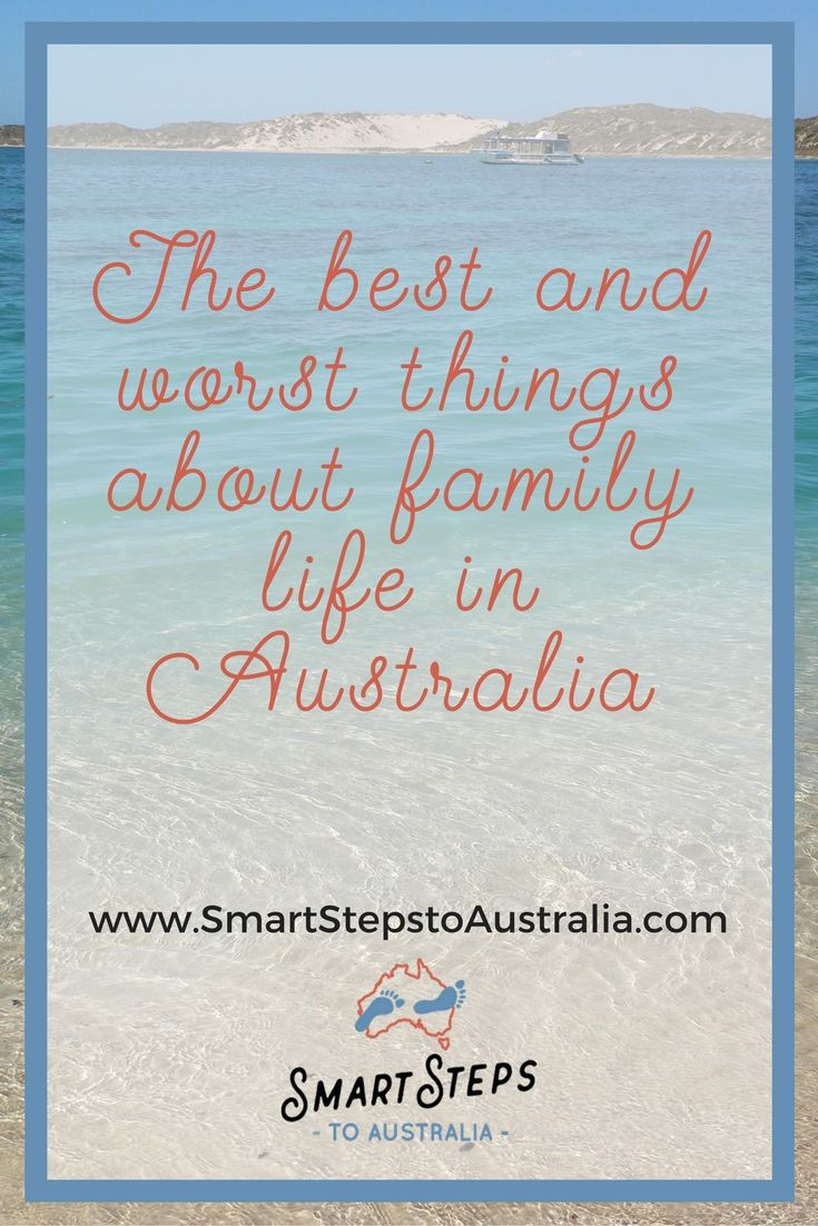 A post outlining the best and worst things about living in Australia as an expat.