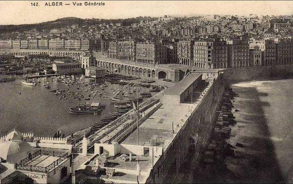 Alger - vue générale à partir de l'Amirauté.