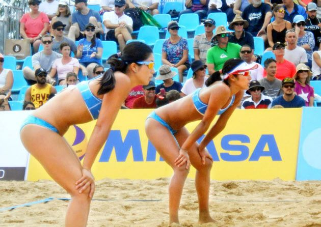 ビーチバレー女子、豪に敗れ3位決定戦へ 五輪アジア予選 - 日本経済新聞 #ビーチバレー