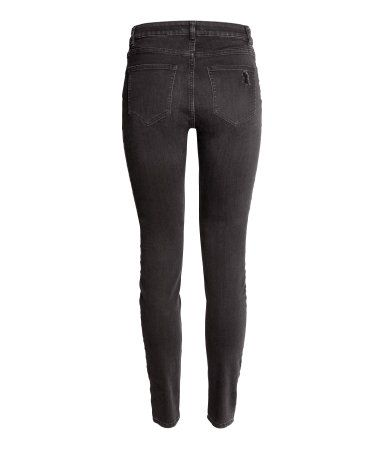 Slim Regular Jeans | Nearly Black | Damen | H&M DE