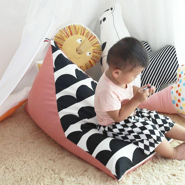 Ребенка Ленивый Диван Кресло-Мешок Кровать Младенцев С Момента Рождения Вашего Ребенка Комфортно Сидя или Лежащего ребенка стул Лентяй