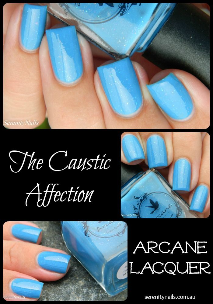 Arcane Lacquer- The Caustic Affection. The Two Tone Collection