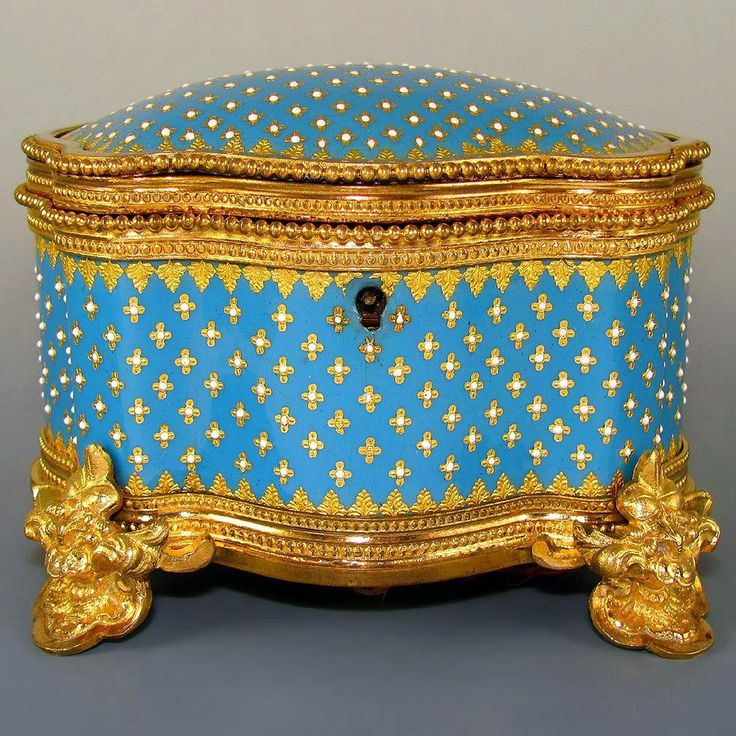 Browse the many Jewelry Caskets available at The Antique Boutique at www.rubylane.com