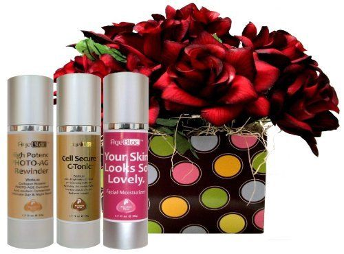 """[Free Expedited Shipping] AgeBloc Your Skin Looks So Lovely Skincare Set Includes High Potency Photo-Age Rewinder Serum(50ml/.... $63.35. Thank you for brightening the world with your kindness and smile. You are truly delight. You care about people and it shows. You care about skin and it will show with our """"Your Skin Looks So Lovely"""" Skincare Set. Tomorrow, you go out and brighten the world again. These products will help brighten your skin.. Save 65% Off!"""