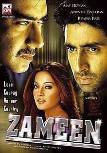 Watch Bollywood movie Zameen 2003 Online in HD | Free