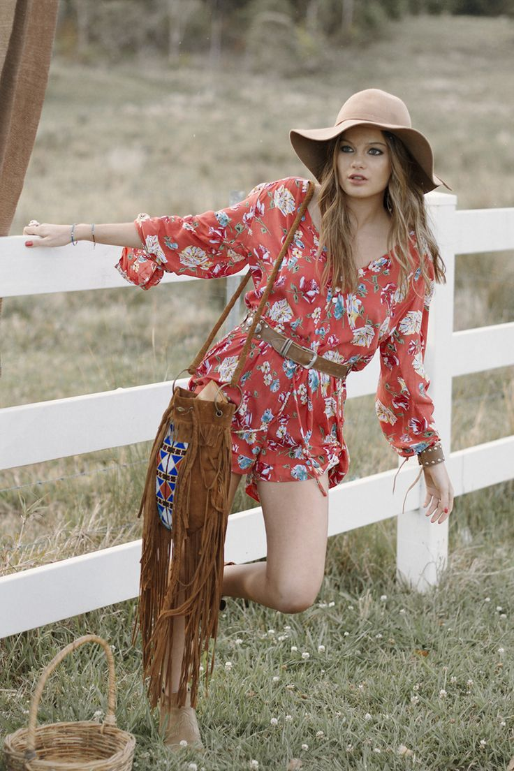 sundance floral playsuit spell the gypsy collective