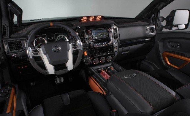 2017 Nissan Titan Warrior interior