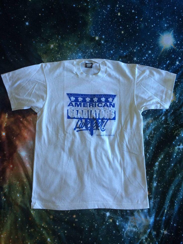 Vintage American Gladiators Live Tour Seven Eleven T-Shirt by VintageVanShop on Etsy