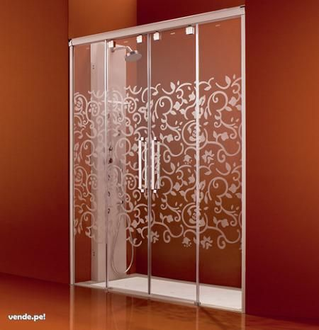 17 best images about ba os on pinterest contemporary - Puertas para duchas ...