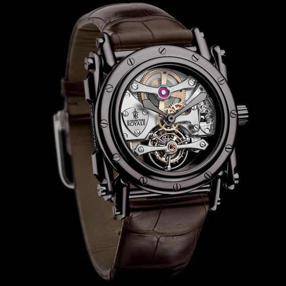 Manufacture Royale watches: Manufacture Royale Androgyne White Gold Black PVD