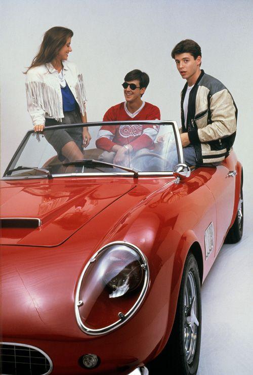 """""""Ferris Bueller"""" (1986) written/directed by John Hughes, starring: Matthew Broderick, Alan Ruck,"""