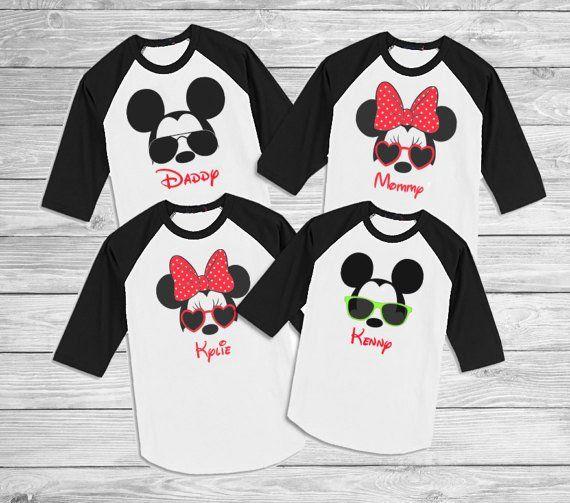 Disney Family shirts - Family Disney shirts - Mickey Sunglasses shirts - Disney Birthday Shirts