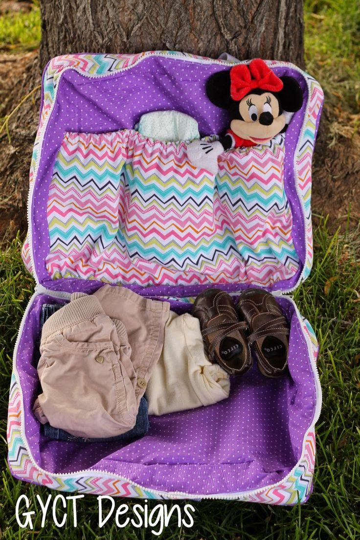 To Grandma's House Bag Pattern & Tutorial by GYCT Designs