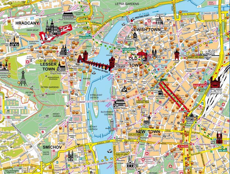 praga map