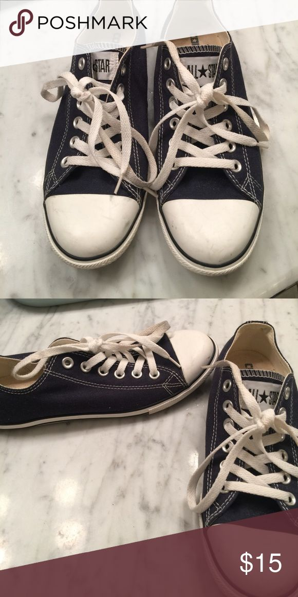 Converse Chuck Taylor All Star sneakers Navy blue and white Chuck Taylor's Converse Shoes Sneakers