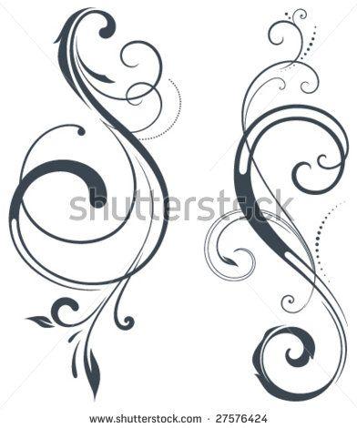 17 Best images about Scrolls on Pinterest   Design, Swirl design ...