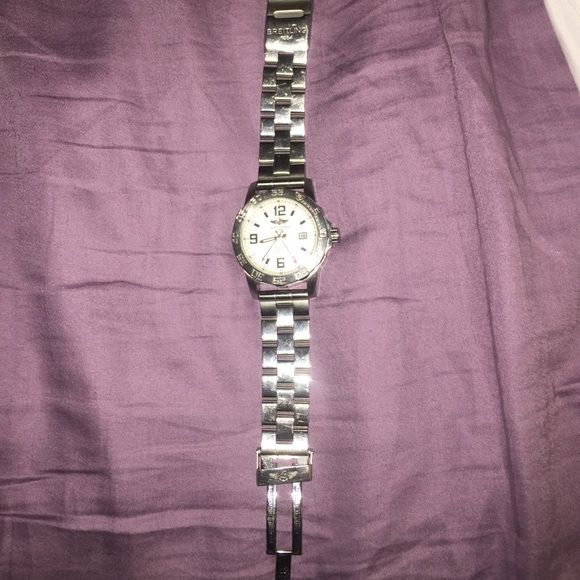 Breitling watch Breitling 1884 watch for sale band missing a pin Breitling Accessories Watches