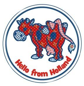 Sluitzegels Hello from Holland