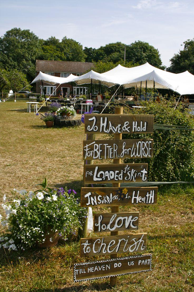 Wedding marquee hire