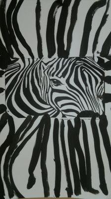 le zèbre/zebra