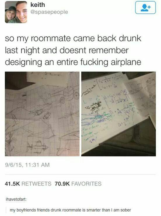 I hope I am that kind of drunk