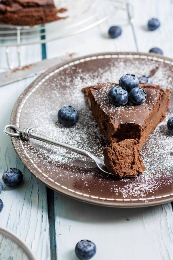 Gâteau chocolat sans gluten aux pois chiches