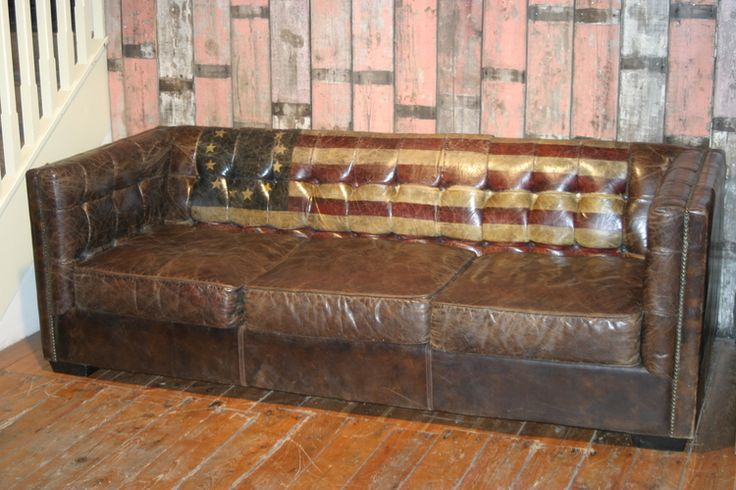 Andrew Martin Armstrong Rebal Flag Sofa  - Old English, Yorkshire UK - +44 (0)1302 714414