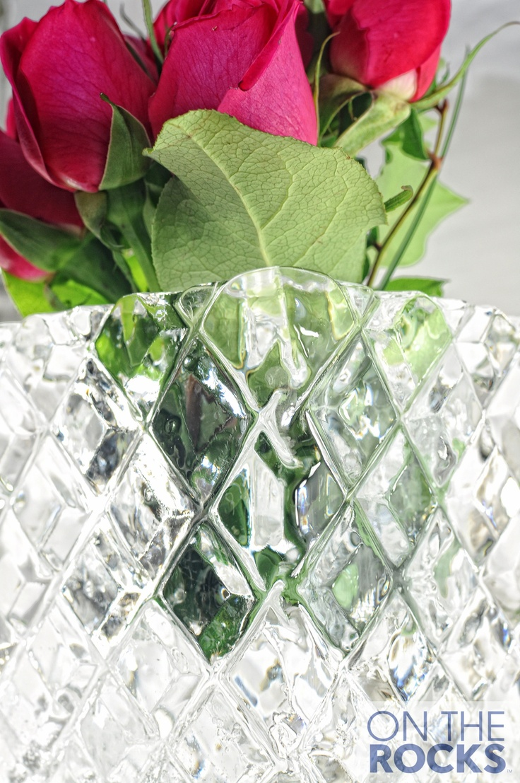 Ice Sculpture #Ice #Vase