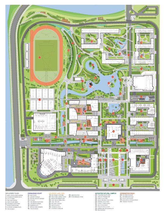 Kunshan West High School Master Plan | Kunshan China | Integrated Planning and Design