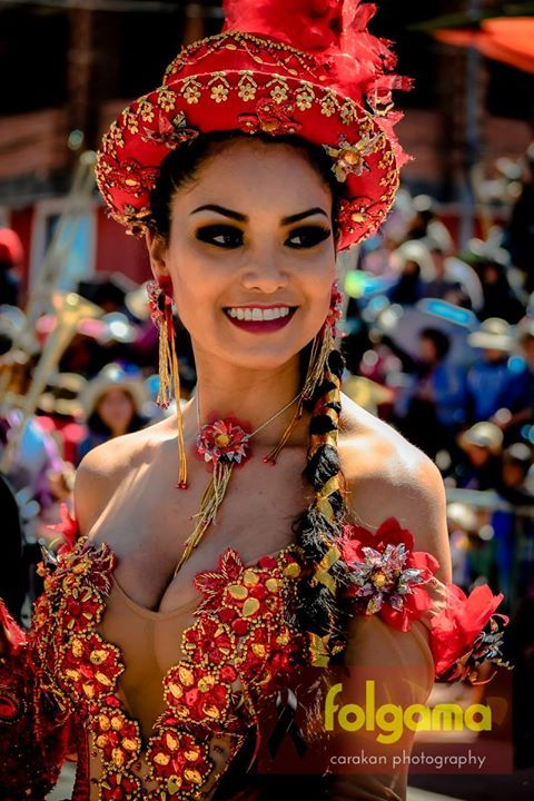 Carnaval de 2014, em Oruro, na Bolívia.
