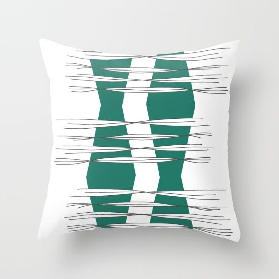 Buy Intersections  Throw Pillow by Mindssgreen. Worldwide shipping available at Society6.com. Just one of millions of high quality products available.