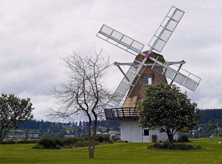 oak harbor wa | Oak Harbor, WA : Windmill at City Beach, Oak Harbor