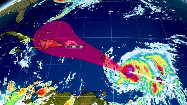 Badai Maria lebih dasyat dari Irma, bukti kiamat makin dekat