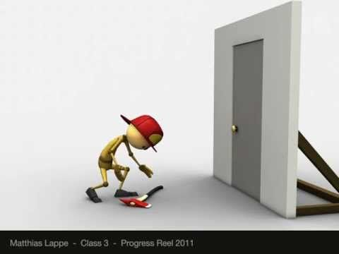 Animation Mentor Progress Reel 2011 Class 4 by Matthias Lappe *old* - YouTube