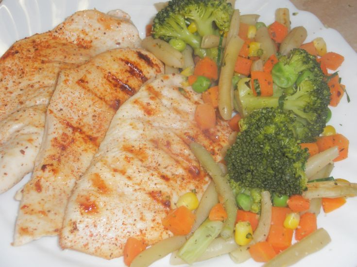 Kuracie steaky so zeleninou