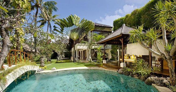 located just five minutes' walk from the #beach in the #historical #village of #Sanur on Bali's southeast #coast. Here guests can escape from the world within an #environment of lush #tropical...