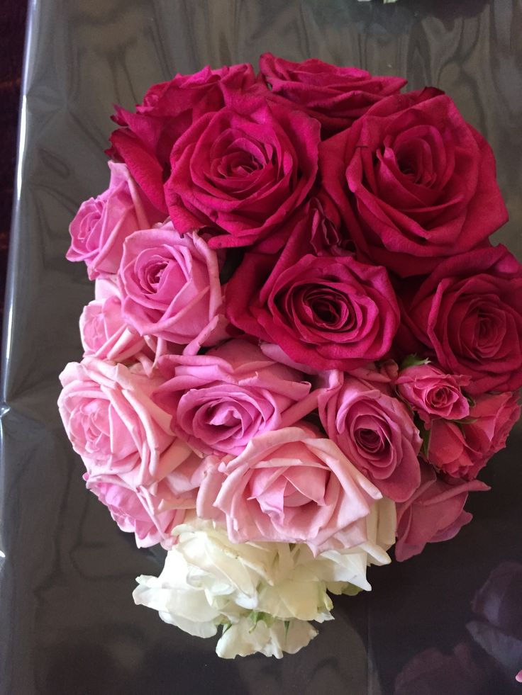 11 best Ombre Roses images on Pinterest | Flower arrangements ...