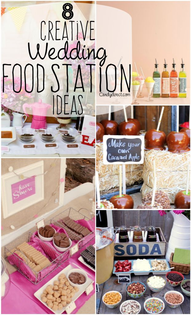"""8 """"Make Your Own"""" Food Station Ideas"""