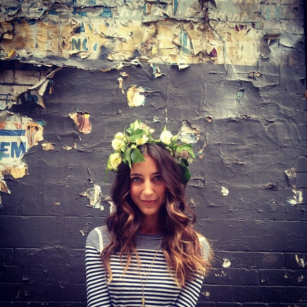 "Ombre.  Gorgeous hair.  @refinery29's photo: ""Lovely @deniseporcaro from @flowergirlnyc"""