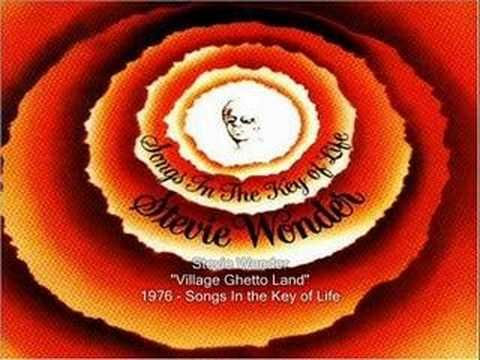Stevie Wonder - Village Ghetto Land (+playlist)